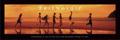 Friendship poster print by  Unknown