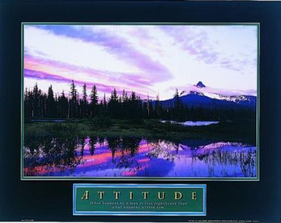 Attitude-Moonrise poster print by  Unknown