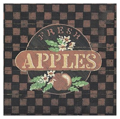 Fresh Apples poster print by Susan Clickner