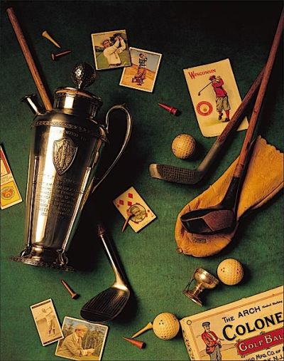 Golf II poster print by Michael Harrison
