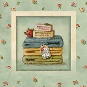 Soap Towels poster print by Lisa Audit