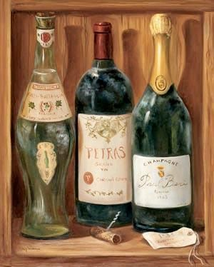 Wine Cabinet II poster print by Nancy Wiseman