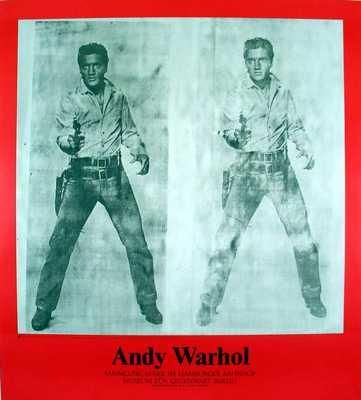 Double Elvis, 1963 poster print by Andy Warhol