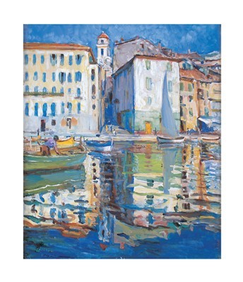 Ville franche - Sur Mer poster print by Dora Meeson