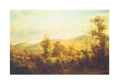 Between Tallarook and Yea poster print by Louis Buvelot