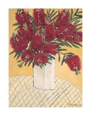 Bottle Brush poster print by Rosine Grosmougin