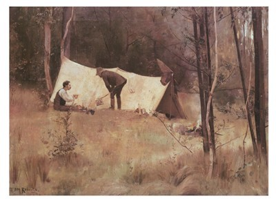 Tom Roberts - Artist's Camp Sirius Cove