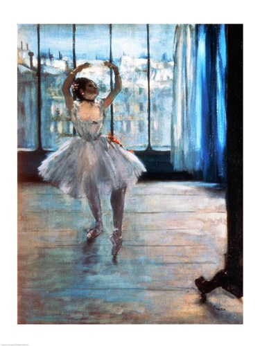 Dancer in Front of a Window poster print by Edgar Degas
