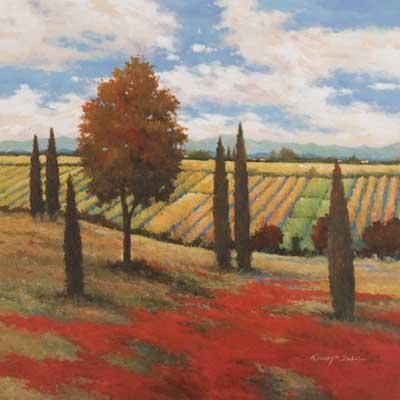 Chianti Country I poster print by Kanayo Ede