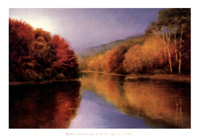 Autumn Afternoon Stillness poster print by Robert Striffolino