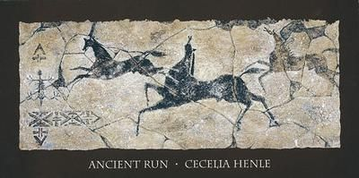 Ancient Run poster print by  Henle