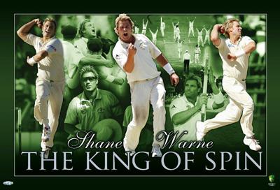Shane Warne poster