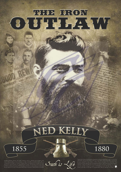 The Iron Outlaw Ned Kelly Art Prints Amp Posters