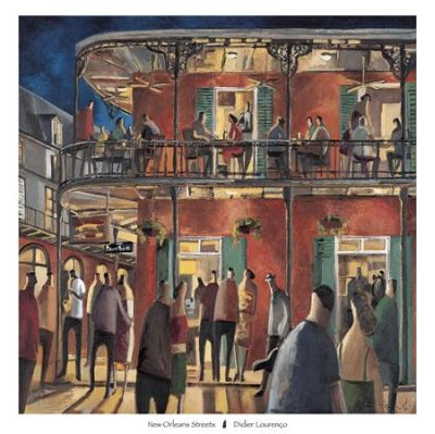 New Orleans Streets poster print by Didier Lourenço
