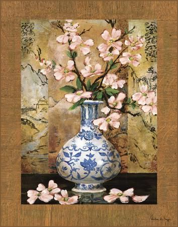 Ming Vase II poster print by  Di Grazzia