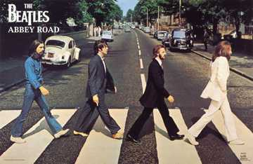 Beatles - Abbey Road poster print by  Unknown