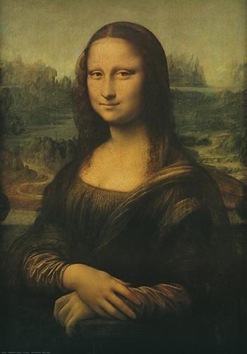 Mona Lisa poster print by Leonardoda Vinci
