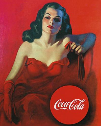 Coca-Cola poster print by  Vintage Advertising
