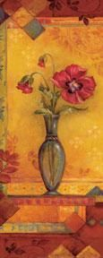Bud Vase I - Mini poster print by Pamela Gladding