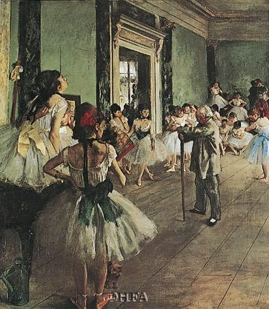Dancing Class poster print by EdgarDegas