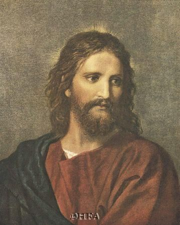 Christ At Thirty-Three poster print by Heinrich Hoffman