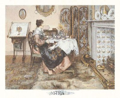 Spinster poster print by Walter Dendy Sadler