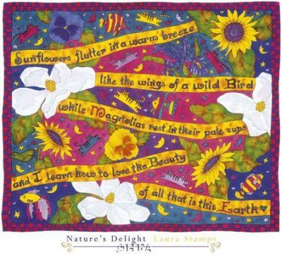 Nature's Delight poster print by Laura Stamps