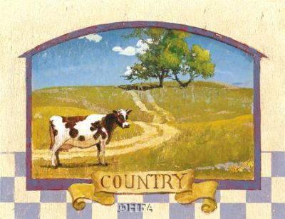 Country poster print by Thomas Laduke