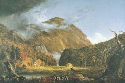 Notch Of The White Mountains poster print by Thomas Cole
