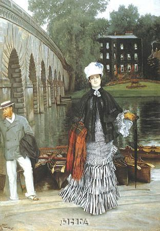 Return From The Boating Trip, 1873 poster print by James Tissot