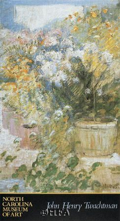 In The Greenhouse poster print by John Henry Twachtman