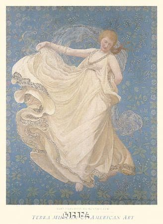 Breeze, 1895 poster print by Mary Fairchild Macmonnies Low