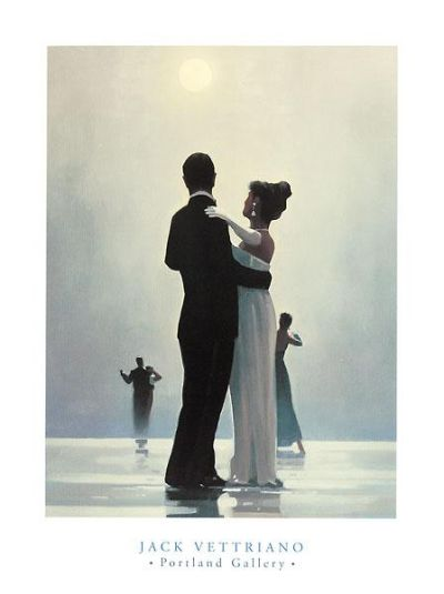 Dance Me To The End Of Love poster print by Jack Vettriano