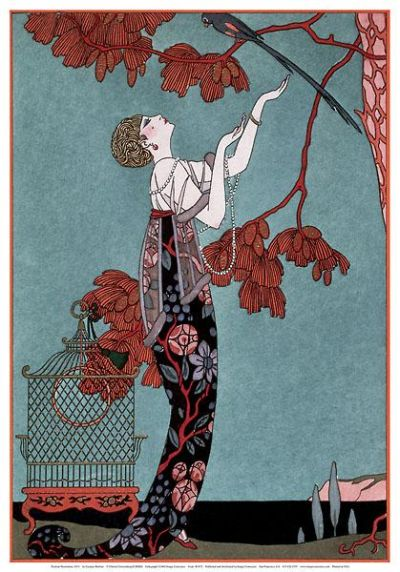Fashion  Prints on Fashion Illustration  1914 By Georges Barbier Posters   Art Prints At