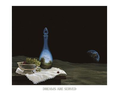 Dreams Are Served poster print by Samy Charnine