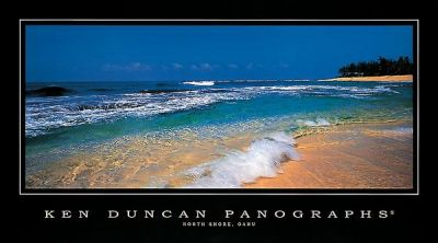 North Shore, Oahu poster print by Ken Duncan