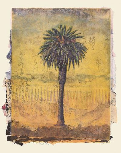 Palm Study #2 poster print by Donald Farnsworth