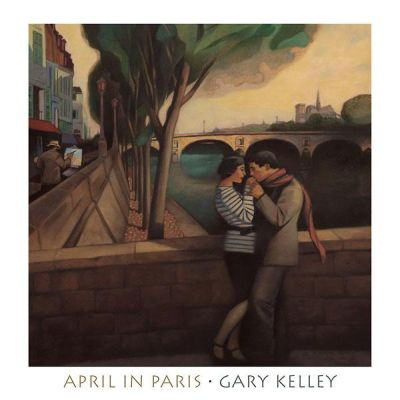 April In Paris poster print by Gary Kelley