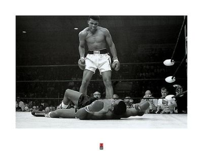Muhammad Ali V. Sonny Liston poster print by  Unknown