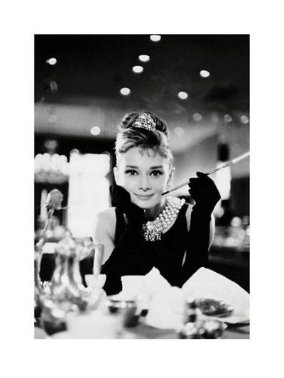 Audrey Hepburn - Breakfast At Tiffany'S poster print by Unknown