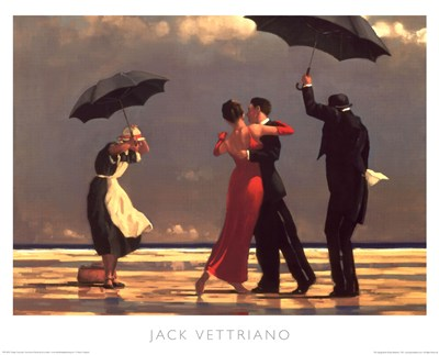 Singing Butler poster print by Jack Vettriano