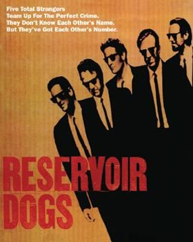 Reservoir Dogs - Five Strangers poster print by  Unknown