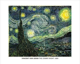 Van Gogh - Starry Night poster print by  Unknown