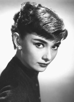 Audrey Hepburn-Close Up -Mural Size poster print by Unknown