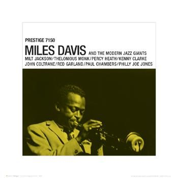 Miles Davis - Prestige poster print by  Unknown