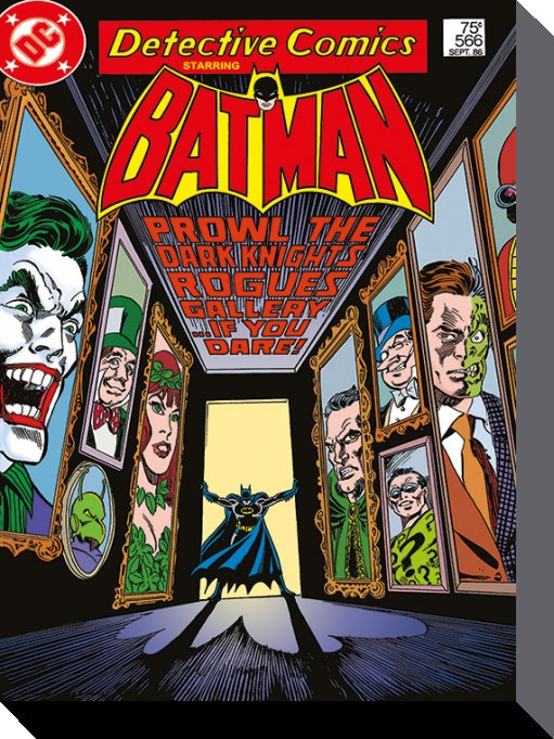 Batman Rogues Gallery poster print by  Canvas Collection