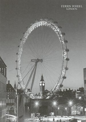 Ferris Wheel, London poster print by  Unknown