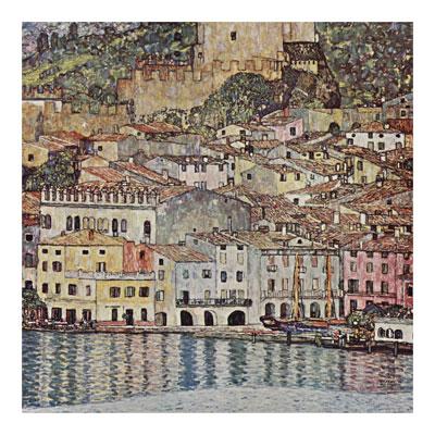 Malcesine Sul Garda poster print by GustavKlimt