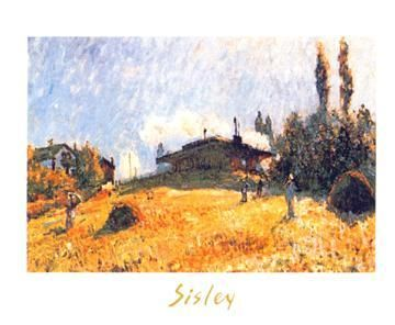 Station At Sevres poster print by AlfredSisley