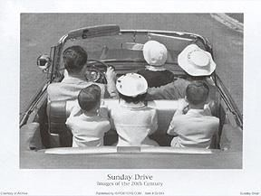 Sunday Drive poster print by  Unknown